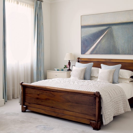 Calming bedroom | Relaxed bedroom designs | Image | housetohome