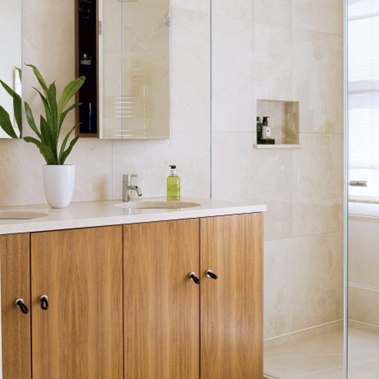 Natural-style shower room   Bathrooms   Decorating ideas   Image   Housetohome