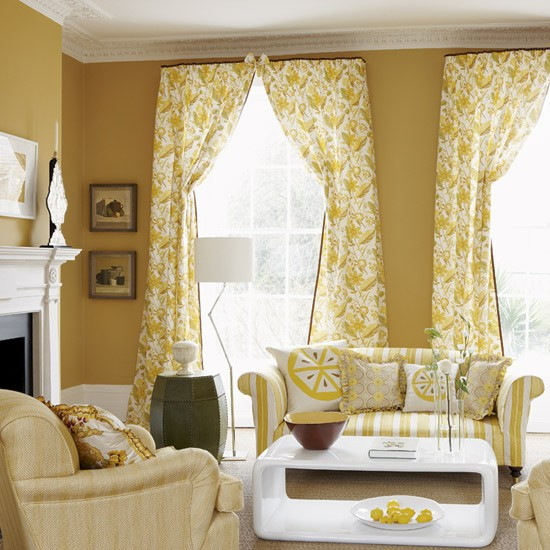 Mellow yellow living room | Living rooms | Decorating ideas | Image | Housetohome