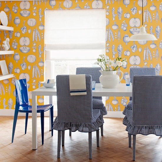 Fruity dining room | Dining rooms | Decorating ideas | Image | Housetohome
