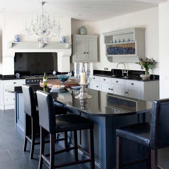Glamorous shaker-style kitchen-diner | Kitchens | Decorating ideas | Image | Housetohome