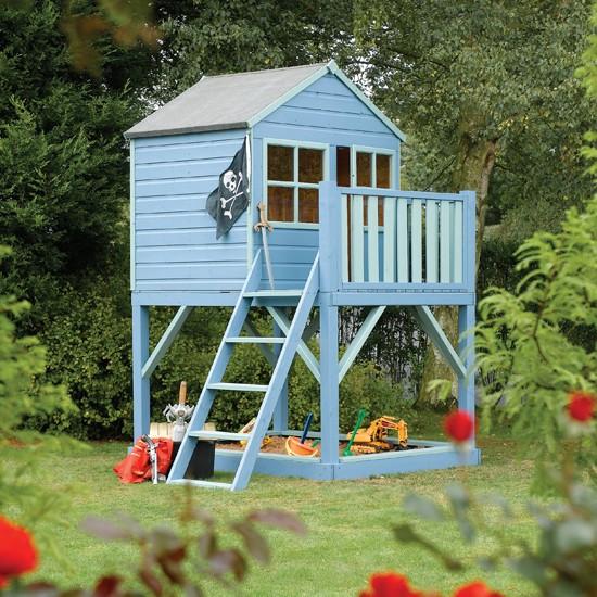 Pdf diy garden playhouse plans uk download harvest table for Garden playhouse plans