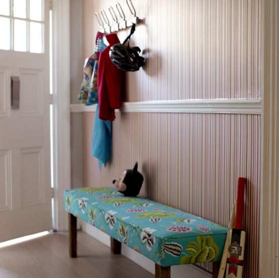 Mixed patterns hallway   Hallways   Decorating ideas   Image   Housetohome