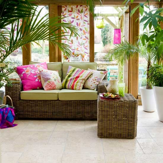 Tropical Conservatory Conservatories Decorating Ideas Image Housetohomecouk