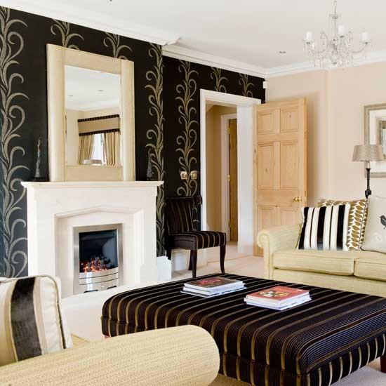 Sala de estar Glamorous | Salões | idéias salas de estar | Imagem | Housetohome