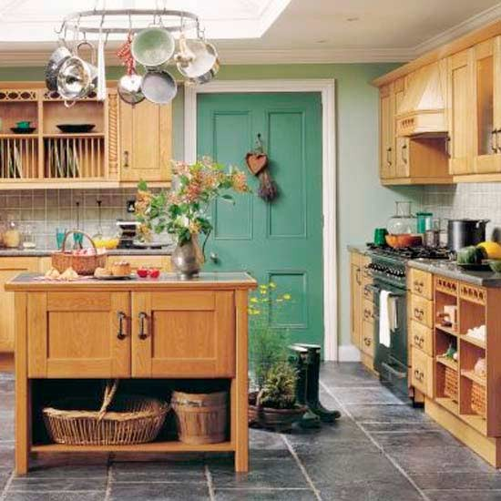 How to plan a country style kitchen planning tips - Country style kitchens ...