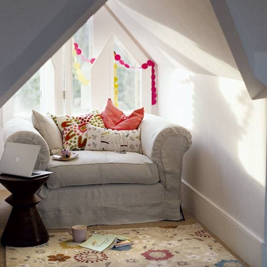 Attic hideaway living room | Image | Housetohome.co.uk