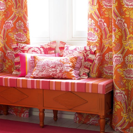 bold patterned curtains patterned rooms