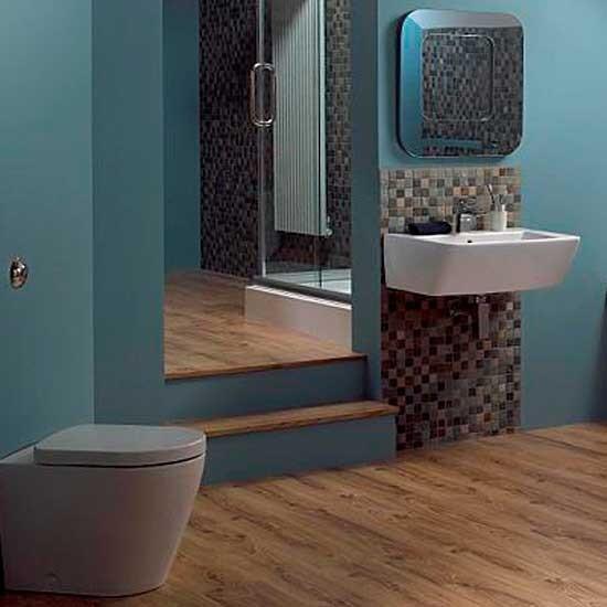 Mosaic shower room | Shower room | Bathroom | Image | Housetohome
