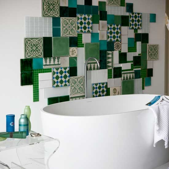 Tile a creative collage | Transform your walls | Home ideas | PHOTO GALLERY | Housetohome.co.uk