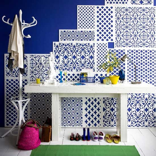 Build a pattern with panelling | Transform your walls | Home ideas | PHOTO GALLERY | Housetohome.co.uk