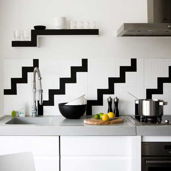 Update white mosaic tiles | Transform your walls | Home ideas | PHOTO GALLERY | Housetohome.co.uk