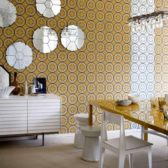 Multicoloured wallpaper | Transform your walls | Home ideas | PHOTO GALLERY | Housetohome.co.uk
