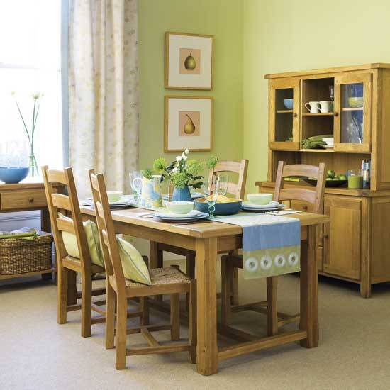 Summery dining room | Dining rooms | Decorating ideas | Image | Housetohome