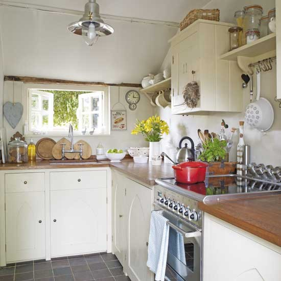 Compact Country Kitchen Kitchens Kitchen Ideas Image