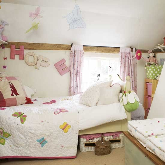 Butterfly children's room | Children's rooms | Bedroom ideas | Image | Housetohome