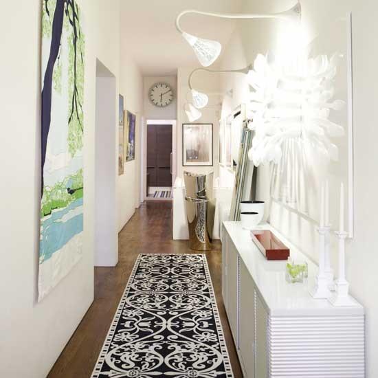 White hallway | Hallways | Decorating ideas | Image | Housetohome