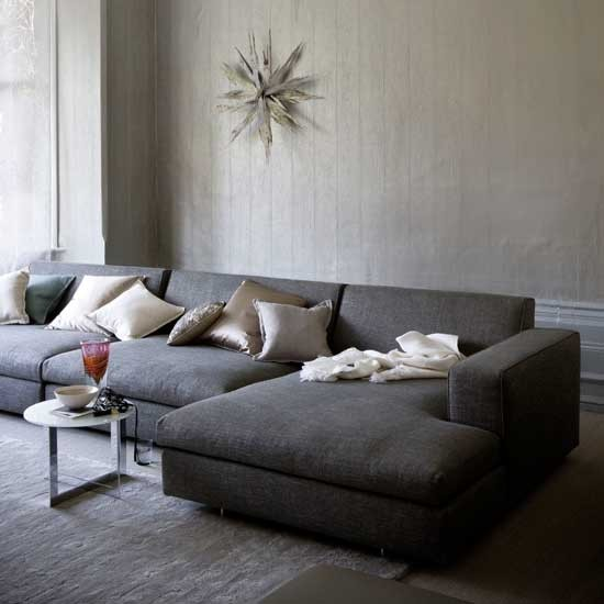 Grey living room | Living rooms | Image | Housetohome