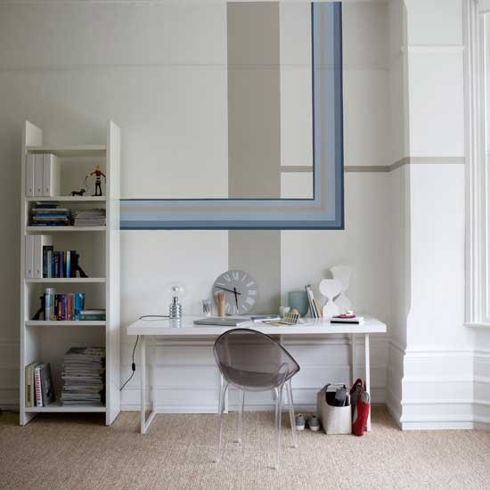 White home office | Home office | Decorating ideas | Image | Housetohome