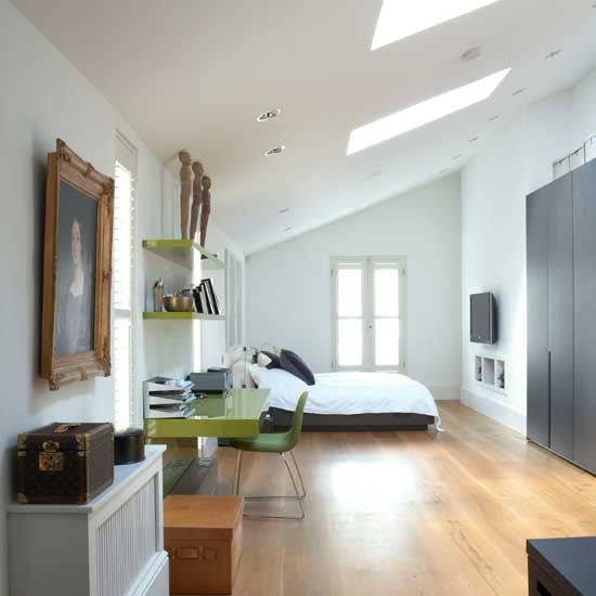 Spacious attic bedroom | Bedroom ideas | Image | Housetohome