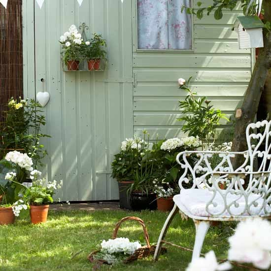 Vintage Backyard Ideas : Vintage country garden  Gardens  Image  housetohomecouk