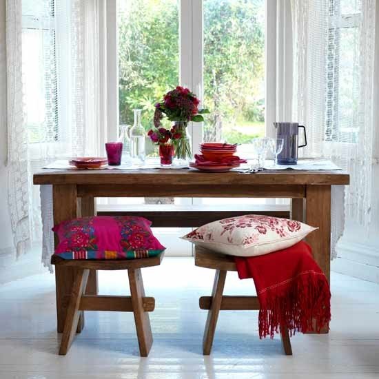 Colourful accents dining room | Dining rooms | Image | Housetohome