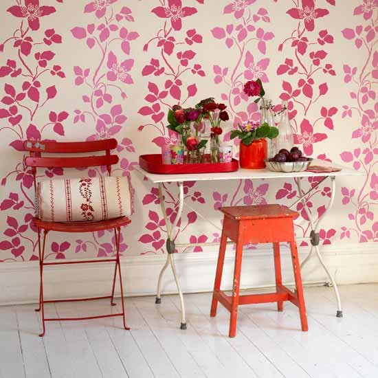 Statement wallpaper hallway | Hallways | Image | Housetohome