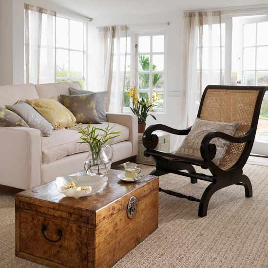 Plantation-style living room | Living rooms | Image | Housetohome