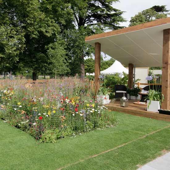 Contemporary country garden   Hampton Court Flower Show   Image   Housetohome