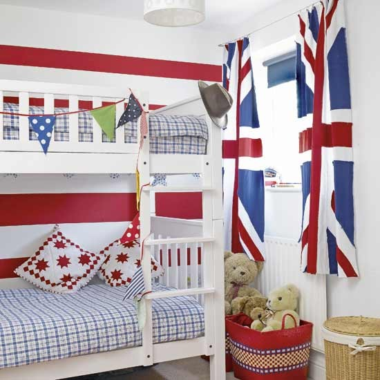 Union Jack children's room | Children's room | Bedroom | Image | Housetohome