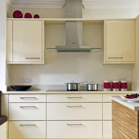 Simply Stylish Cream Kitchen