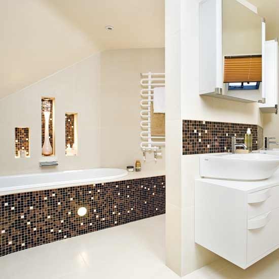 Hotel glamour bathroom bathrooms decorating ideas for Glamorous bathroom designs