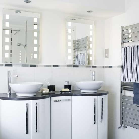 Twin basin units | Bathroom decorating ideas | housetohome.