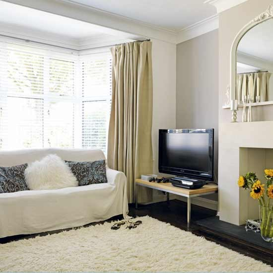 White cosy living room | Living rooms | Decorating ideas | Image | Housetohome