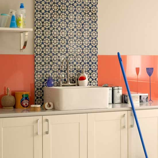 Retro laundry room Letc - housetohome