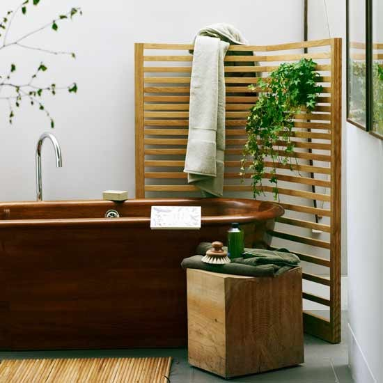 natural spa bathroom decorating ideas image