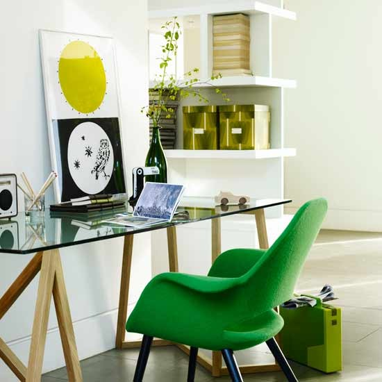 Modern home office | Home office | Decorating ideas | Image | Housetohome