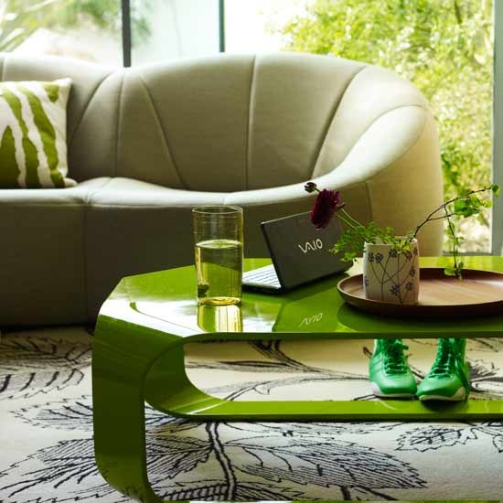 Fresh green living room | Colourful living rooms | Living room designs | PHOTO GALLERY | Housetohome.co.uk