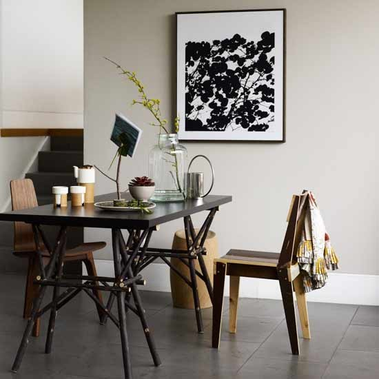 Wood accents dining room | Dining rooms | Decorating ideas | Image | Housetohome