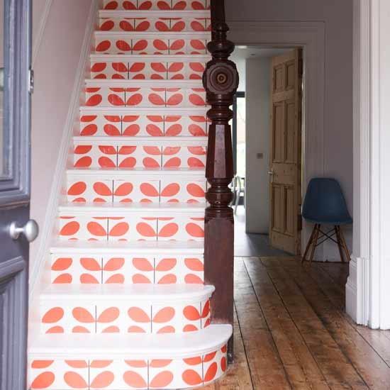 Feature Staircase Hallway Hallways Decorating Ideas