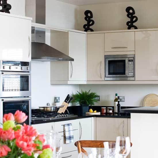 White compact kitchen | Kitchen | Decorating ideas | Image | Housetohome