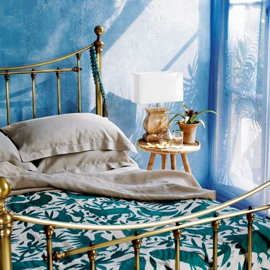 Sunny Spanish bedroom | Bedroom designs | Image | Housetohome