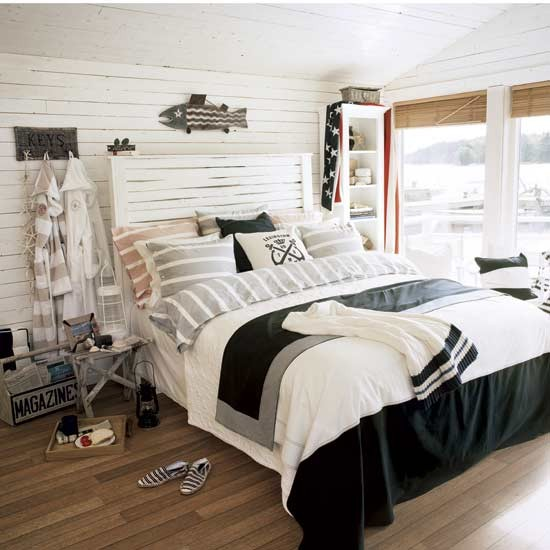 Nautical bedroom Bedroom ideas Flooring