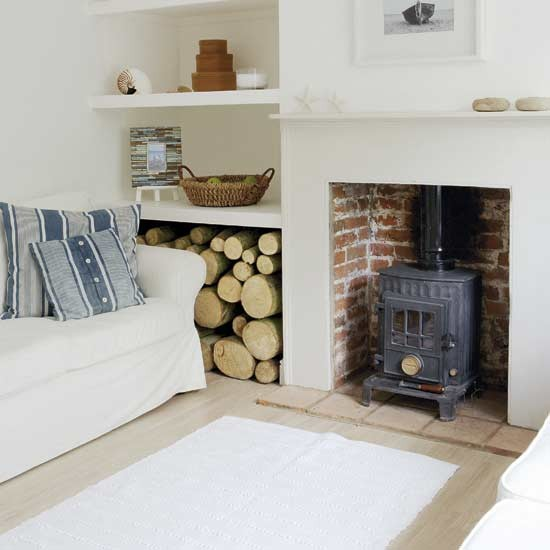 Wood Burning Stove Hearths And Mantles Pinterest