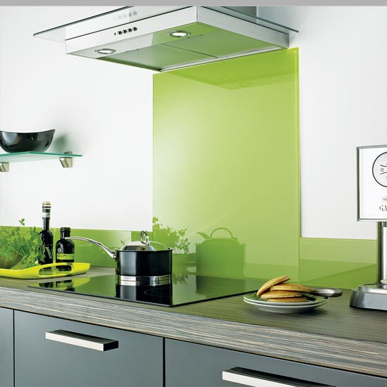 Lime splashback from CP Group | Kitchen splashbacks | Kitchen ...