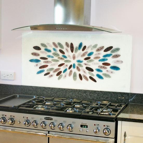 Traditional Kitchen Splashbacks Ideas: Petal Design - Rupert Scott