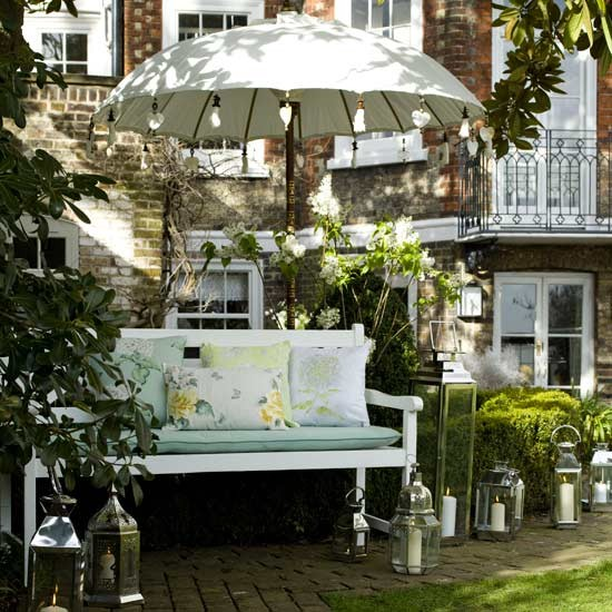Plan a formal seating area | Garden party ideas | Outdoor dining | Garden decoration | PHOTO GALLERY