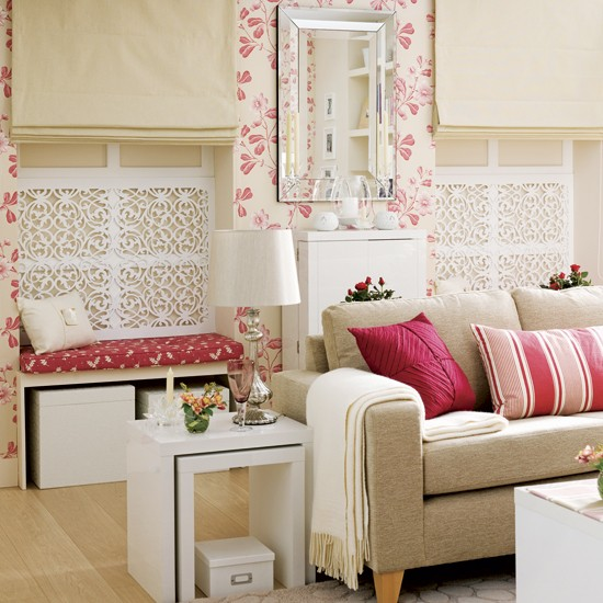 Double window seating area | Living room designs | Image | Housetohome