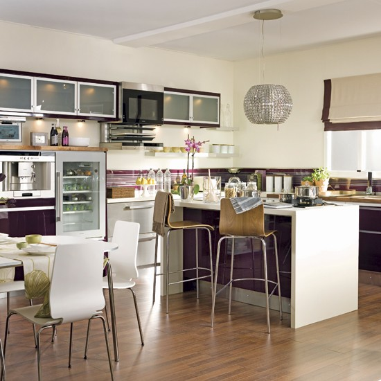 Glamorous kitchen-diner | Kitchen-diner designs | Image | Housetohome