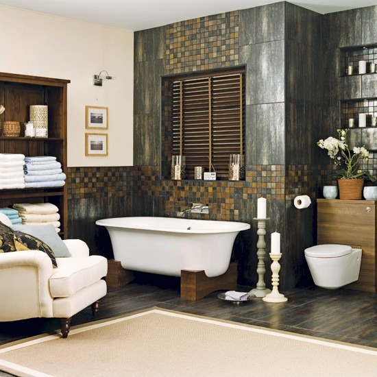 Spa-style bathroom | Bathrooms | Decorating ideas | Image | Housetohome